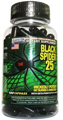 Black Spider 25 - Cloma Pharma