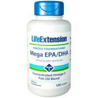 Mega EPA/DHA (120 softgels) - Life Extension
