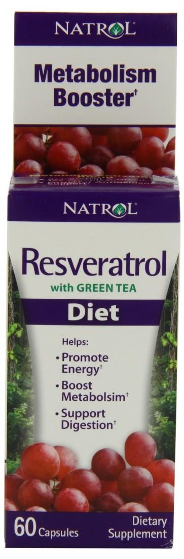 Resveratrol (60 cápsulas) - Natrol