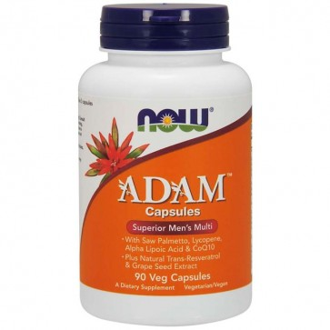 ADAM Multivitamínico do Homem (90 cápsulas) - Now Foods