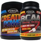 Combo BCAA 200g + Creatina 300g - Power Supplements