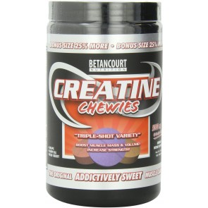 Creatina Chewies [Mastigável] (160 tabletes) - Betancourt Nutrition