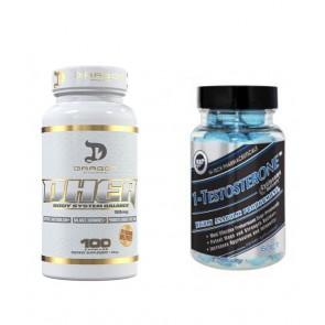 COMBO DHEA 50 + 1 TESTOSTERONE