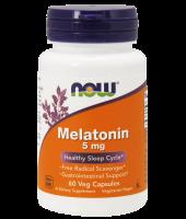 Melatonina 5mg (60 V Caps) - Now Foods
