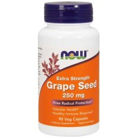 Grape Seed Extract 250mg (90 cápsulas) - Now Foods