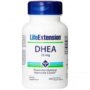 DHEA 25mg - 100Caps - Life Extension