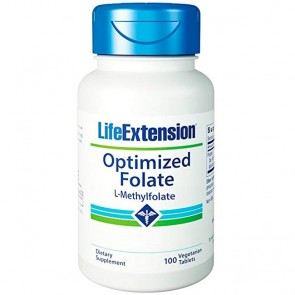 Optimized Folate (100 tabletes) - Life Extension