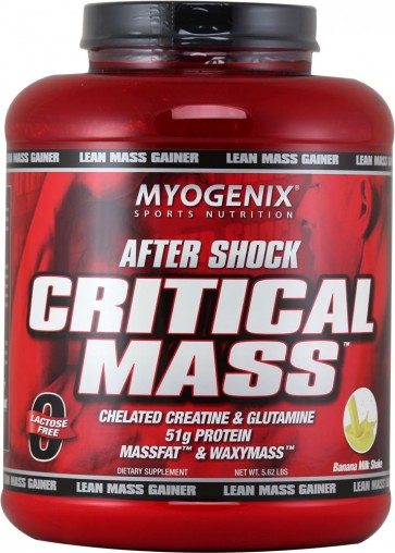 After Shock Critical Mass - Myogenix