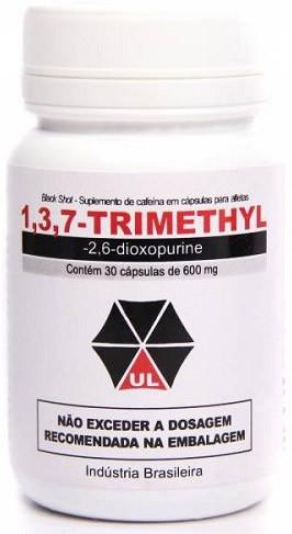 1,3,7-Trimethyl (Black Shot) (30 cápsulas) - Umbrella Labs