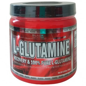 L-Glutamina (300g) - Black Nutrition