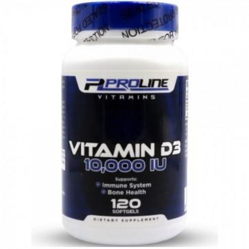 Vitamina D3 10,000 120s PLV - Proline