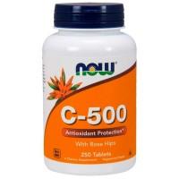 Vitamina C-500 (250caps) - Now Foods