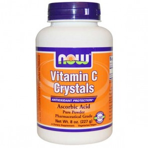 Vitamin C Crystals - 227g - Now Sports