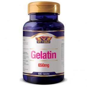Gelatin 650mg (100 cápsulas) - VitGold