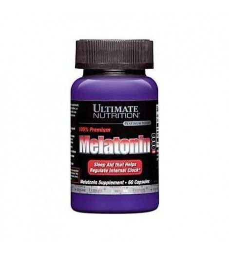Melatonina 3 mg Ultimate Nutrition (60 cápsulas)