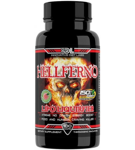 Hellferno (100 cápsulas) - Innovative Labs