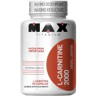 L-Carnitine 2000 (120 cápsulas) - Max Titanium