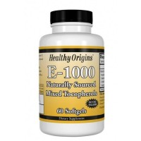E-1000 IU 60 Softgels HEALTHY Origins