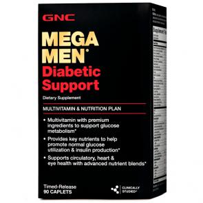 Mega Men Diabetic Support (90 caps) - GNC