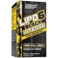 Lipo 6 Black Intense Ultra Concentrado - Nutrex (60 cápsulas)