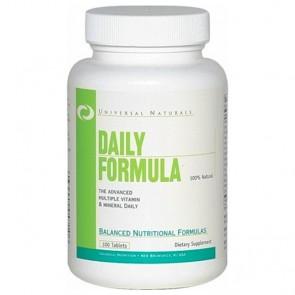 Daily Formula (100 tabletes) - Complexo Vitaminico - Universal