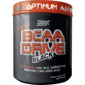 BCAA Drive Nutrex 200 cápsulas