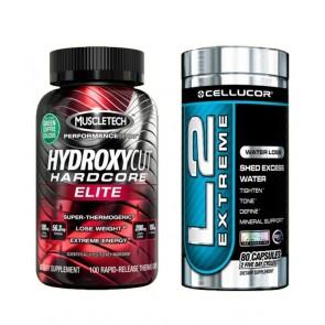 COMBO HYDROXYCUT HC ELITE + L2 EXTREME