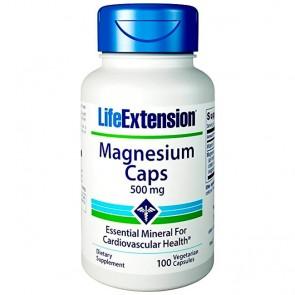 Magnésio 500mg (100 cápsulas) - Life Extension