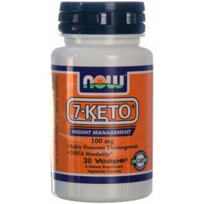 7-Keto 100mg (30 cápsulas) - Now Foods