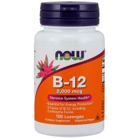 Vitamina B-12 2000 (100 comprimidos) - Now Foods