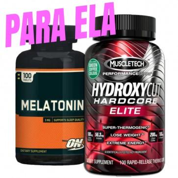 PARA ELA - MELATONINA + HYDROXYCUT