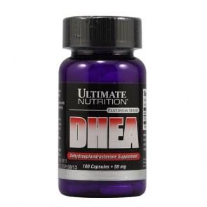 DHEA 50mg - Ultimate Nutrition (100 cápsulas)