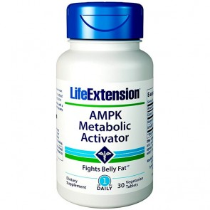 AMPK Ativador Metabólico (30 cápsulas) - Life Extension