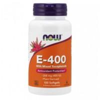 Vitamina E-400 (100 softgels) - Now Foods