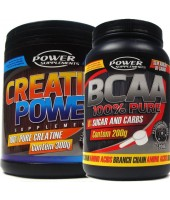 Combo BCAA 200g + Creatina 300g - Power Supplements