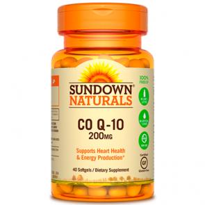 Co Q-10 200mg (40 softgesls) - Sundown Naturals