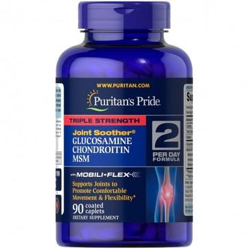 Glucosamine Chondroitin MSM (90caps) - Puritan's Pride