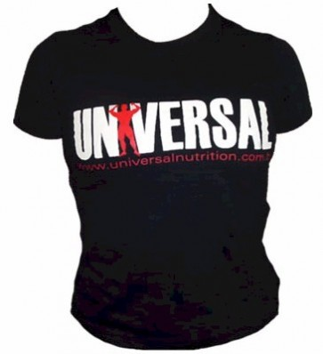 Camiseta Baby Look Feminina (Preta) - Universal