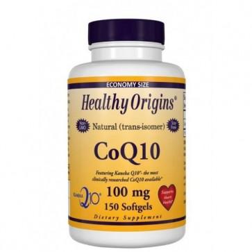 Coq10 100mg Healthy Origins 150 Softgels HEALTHY Origins