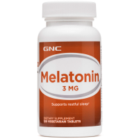 Melatonina 3mg (120 tabs) - GNC