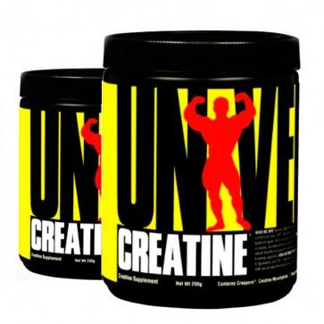COMBO 2 UNIDADES - Creatina Powder 200g - Universal Nutrition Universal Nutrition