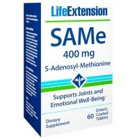 SAMe 400mg (60 tabletes) - Life Extension
