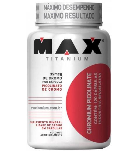 Cromo (120 Cápsulas) - Max Titanium