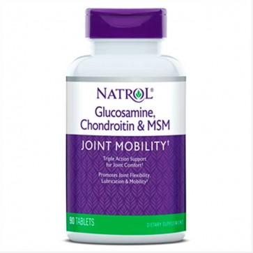Glucosamina Condroitina MSM (90 cápsulas) - Natrol