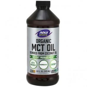 MCT Oil Organic (473ml) - Now Foods