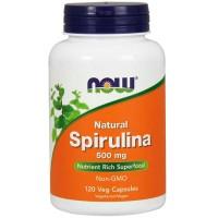 Spirulina 500mg (120 cápsulas) - Now Foods