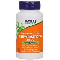 Ashwagandha Extract 450mg (90 cápsulas) - Now Foods