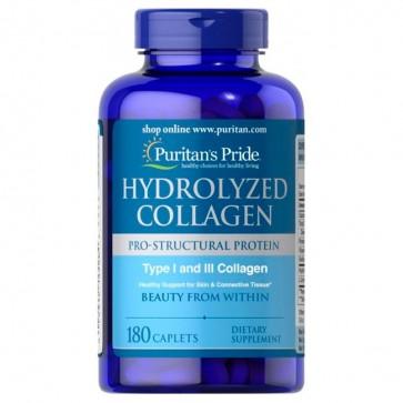 Colágeno Hidrolisado 1000mg (180 caps) - Puritan's Pride