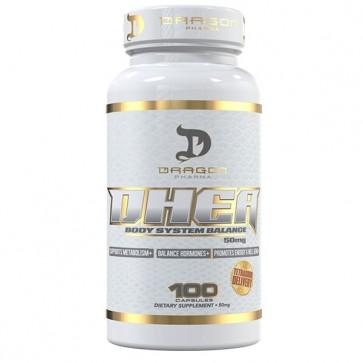 DHEA 50mg - Dragon Pharma (100 cápsulas)