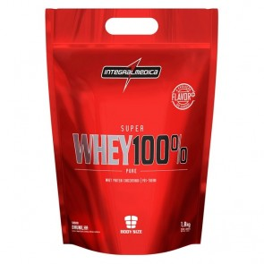 Super Whey 100% Pure Body Size - 1,8kg - Integralmédica  - Baunilha